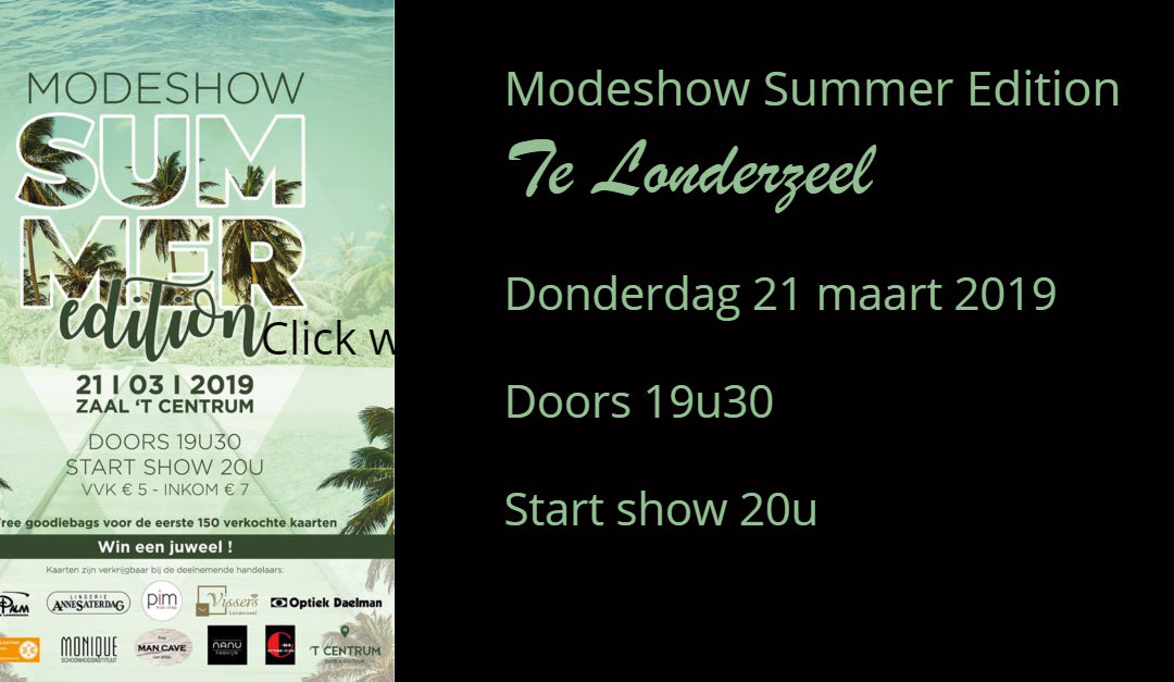 Modeshow Summer Edition 2019