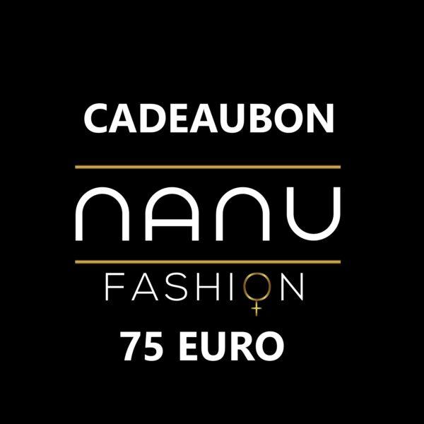 Cadeaubon webshop 75 euro 1