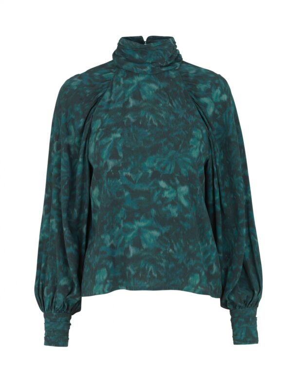 Renett blouse nimah print
