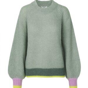 Jacki woodson knit green