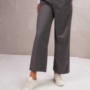 Piper broek pinstripe grijs