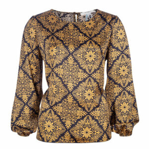 Charlotte blouse wall gold