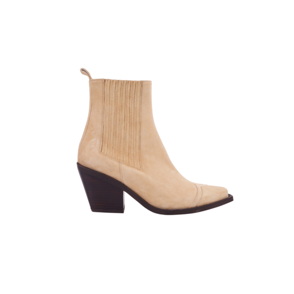 Napoli boots suede soft camel