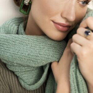 Scarf jille mint green