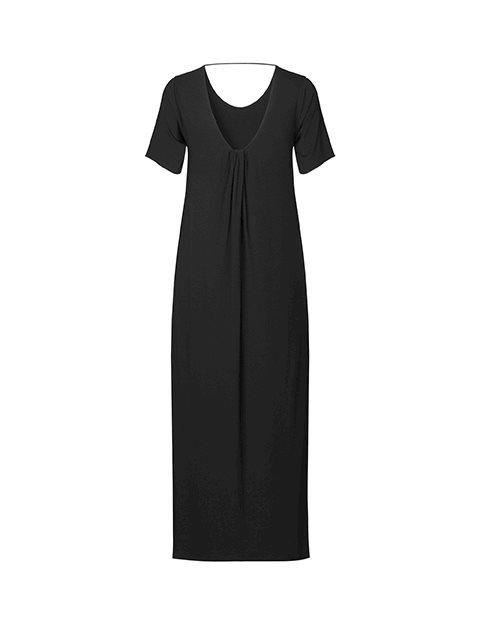 Bertti modal dress black