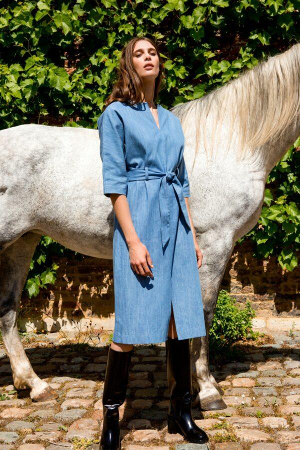 Mona dress Blue