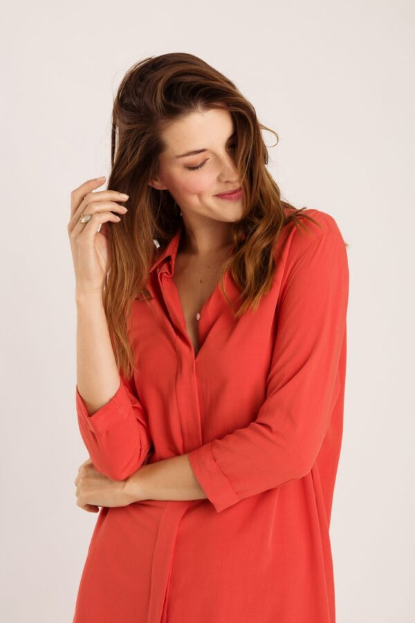 Babs dress coral