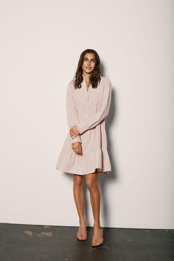 Fqgingham dress