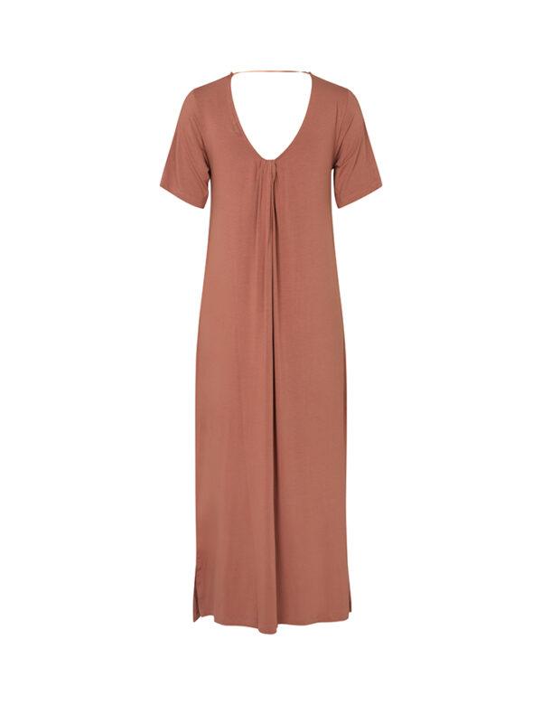 Bertti modal dress cedar wood