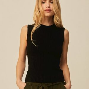 Jemima top black