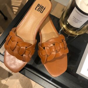 Slippers Bibi Lou cognac