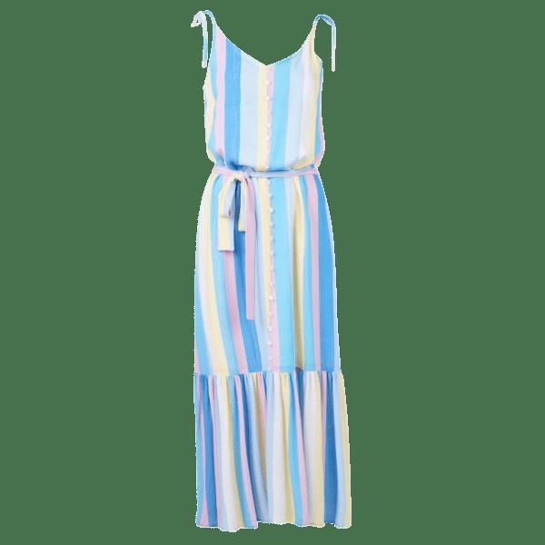 Dundee dress multistripes