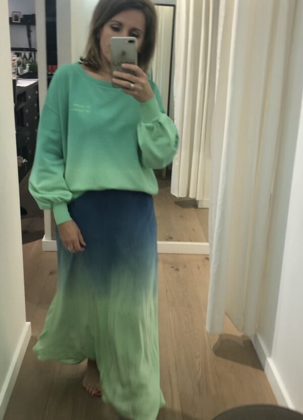 Maxi skirt tie&dye