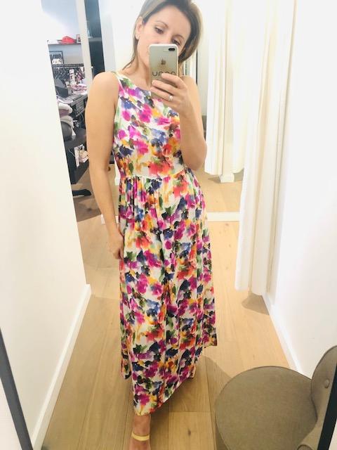 Maxi dress flowers