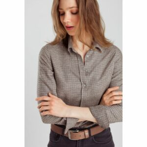 Danae blouse check