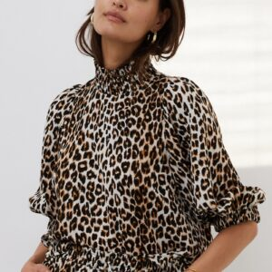 Bobby top leopard