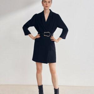 Clash blazer dress